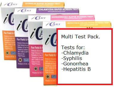 Sexual Health Multi-Test Pack